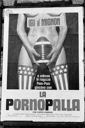 Marialba Russo manifesti film luci rosse pornopalla