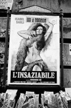 Marialba Russo manifesti film luci rosse insaziabile