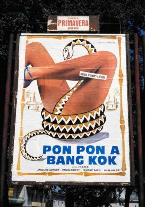 Marialba Russo manifesti film luci rosse pon pon bang kok