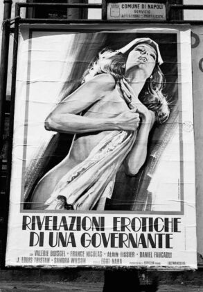 Marialba Russo manifesti film luci rosse rivelazioni erotiche