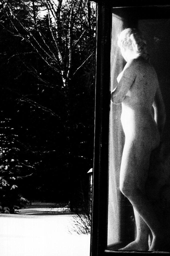 statua affacciata giardino Eriberto Guidi