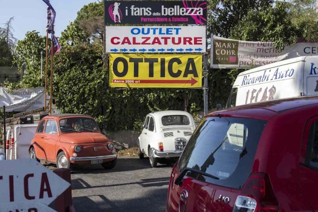 via cassia roma Massimo Siragusa