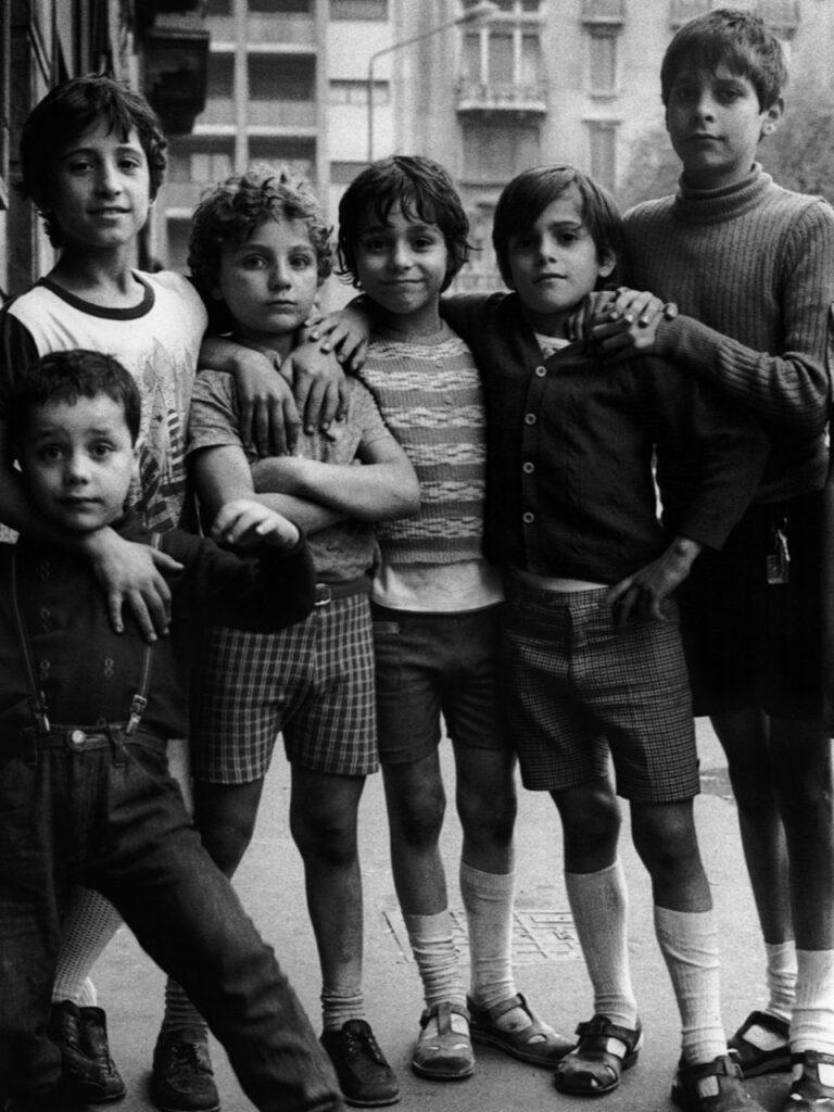 Liliana Barchiesi Bambini Milano 1974