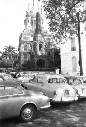 roberto gabetti Sanremo La chiesa di rito ortodosso 1958