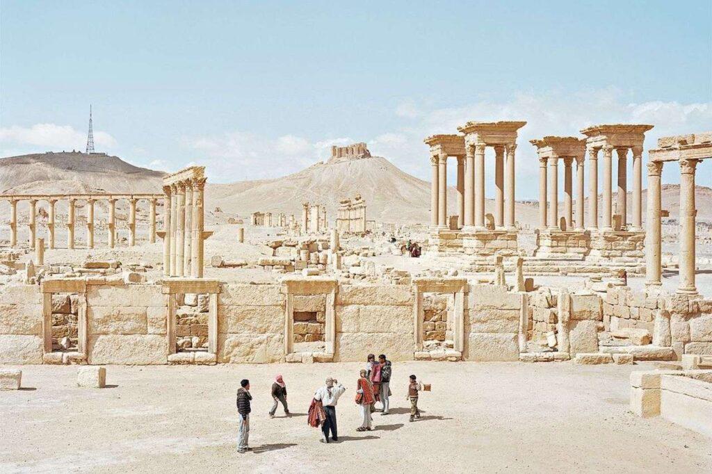 Alfred Seiland Tadmor Palmyra Siria 2011