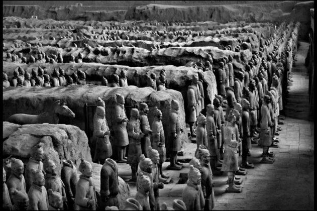 Esercito di terracotta Xian 1998 Elio Ciol