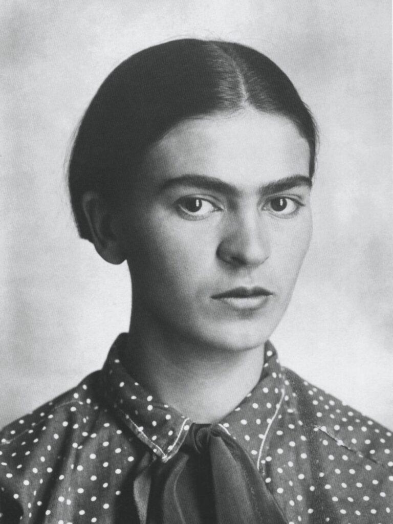 Frida Kahlo diciottenne