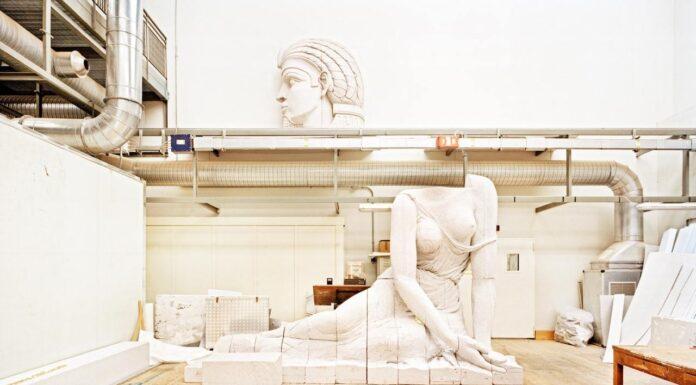 Massimo Siragusa laboratorio lavorazione scenografie teatro la scala