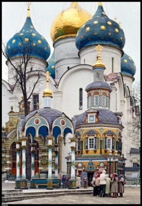 Monastero di Zagorsk 1985 Elio Ciol