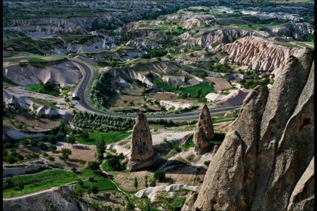 Orthaisar Göreme Cappadocia 1983 Elio Ciol