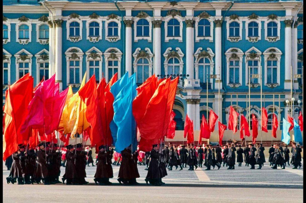 Per il 40 della vittoria Leningrado 1985 Elio Ciol