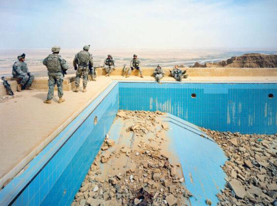 Richard Mosse Pool at Uday Palace Iraq