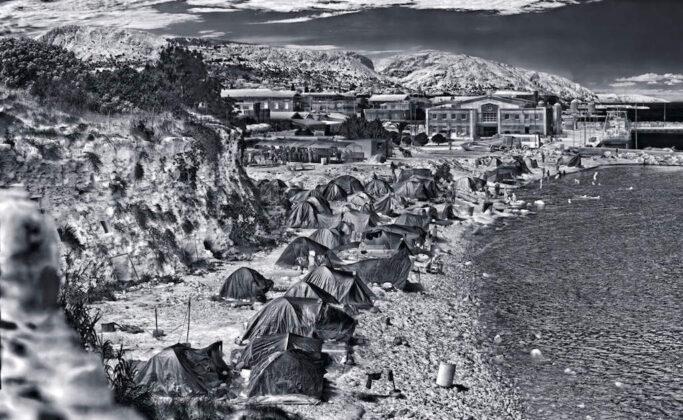Richard Mosse Souda Camp Chios Island Greece