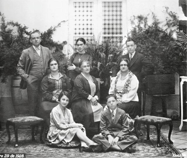 Ritratto di famiglia con Frida Kahlo