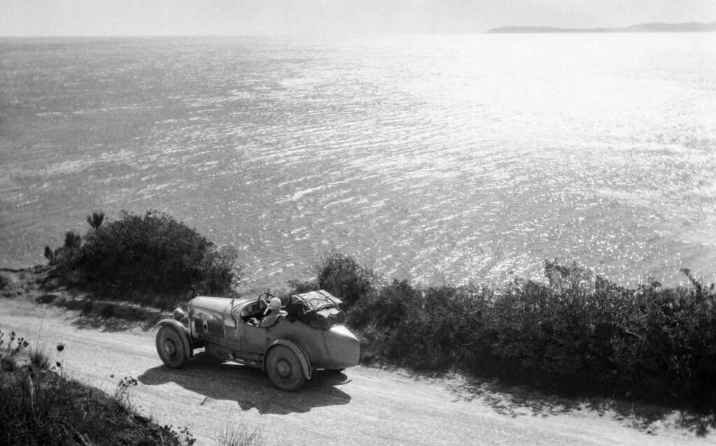 lartigue mostra milano Mediterraneo 1927