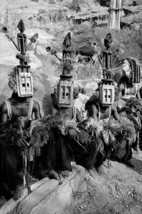 Richard de Tscharner mostra Todi ceremonie des masques Mali 2005