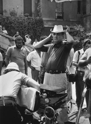 Agenzia Dufoto Fellini regista anni 70