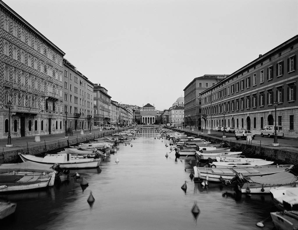 Gabriele Basilico mostra a Trieste.