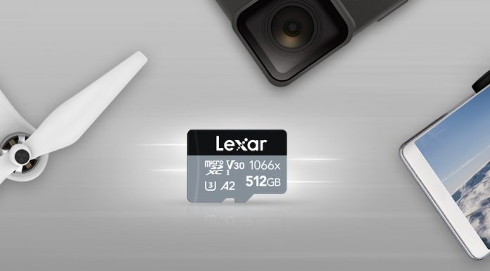 MicroSD Lexar Professional 1066x