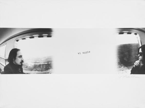 Luca Maria Patella Auto viaggiante L e R sulla Copenhagen-Parigi 1975