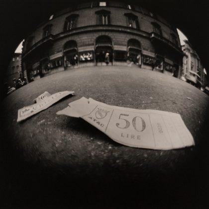 Luca Maria Patella Biglietto d'autobus 1966