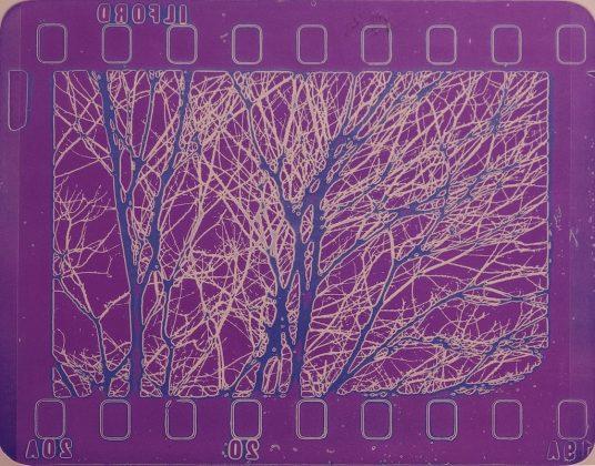 Luca Maria Patella Paesaggio colorato 1966