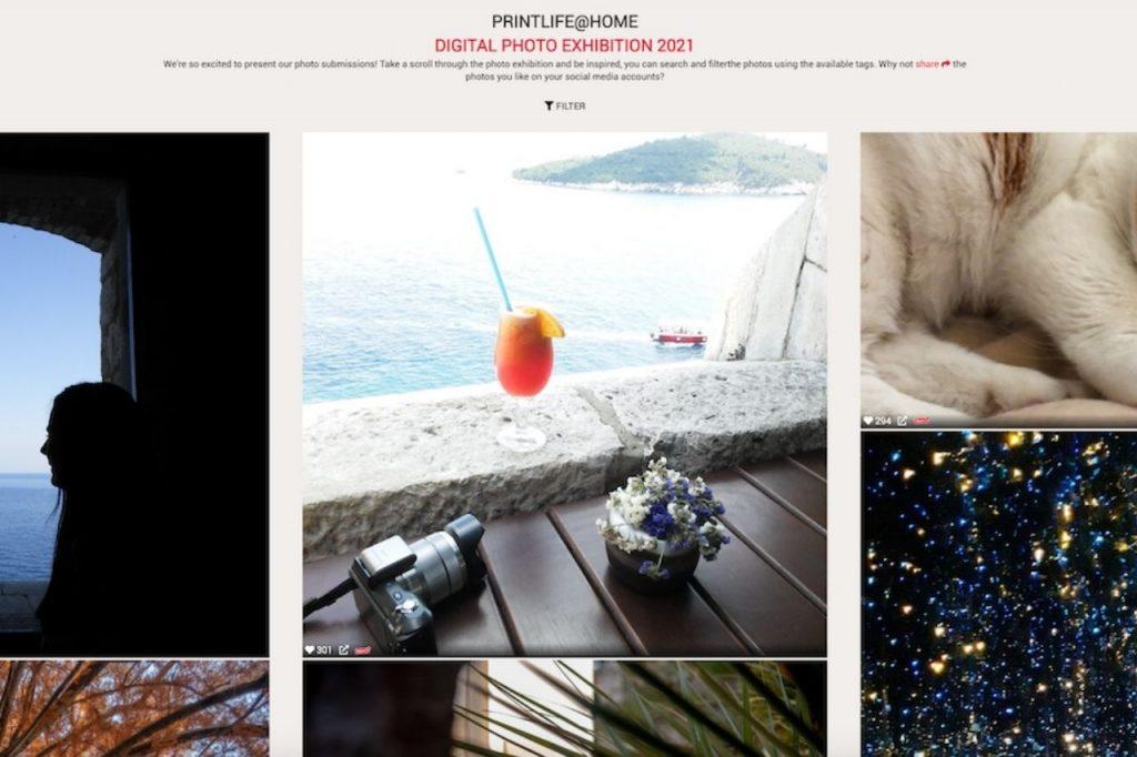Printlifehome mostra virtuale Fujifilm