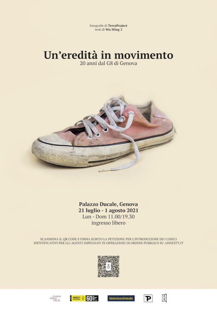TerraProject Wu Ming 2 mostra 20 anni G8 Genova