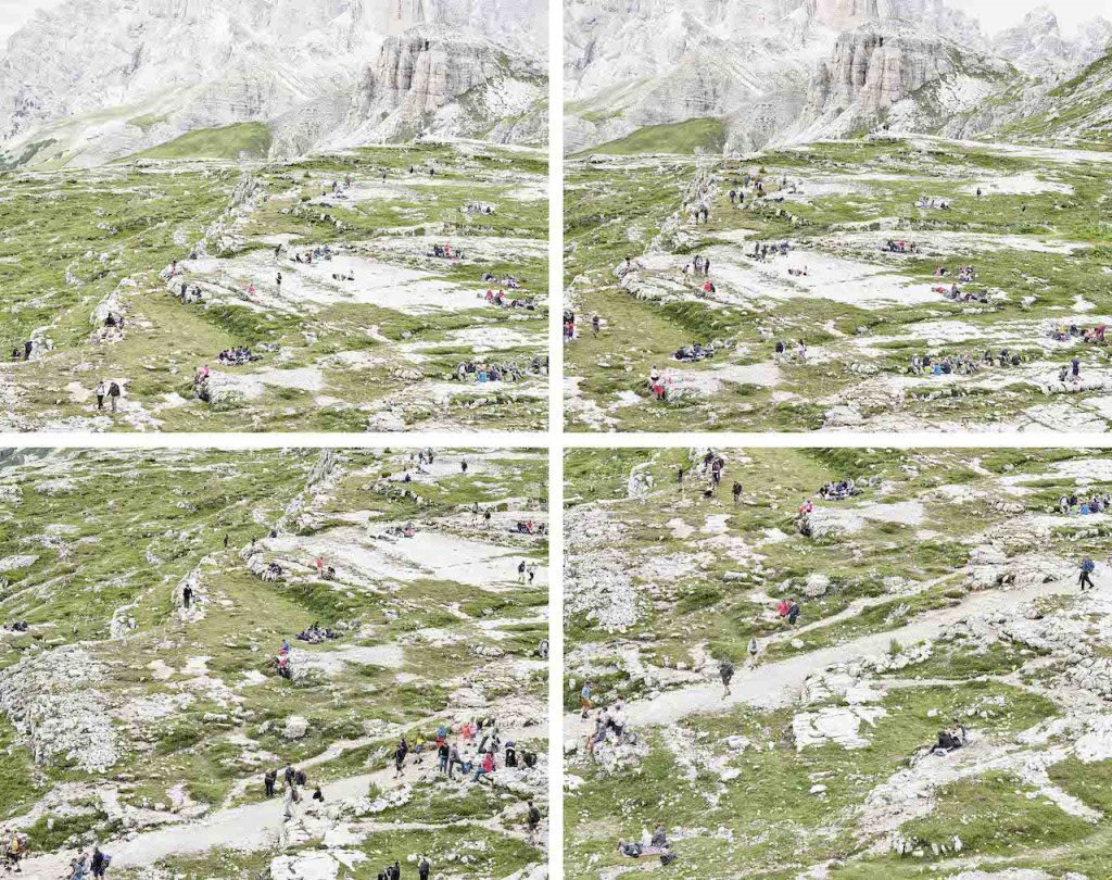 Walter Niedermayr mostra torino Dreizinnenhütte