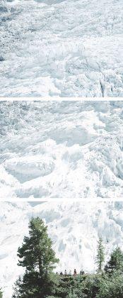 Walter Niedermayr mostra torino Glacier des Bossons