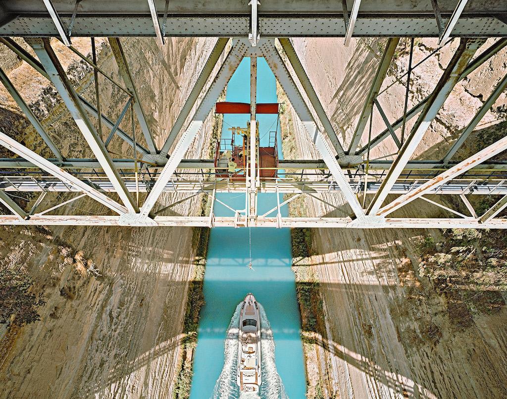 Alfred Seiland Il Canale di Corinto Isthmia Colonia Laus Iulia Corinthiensis Grecia 2014