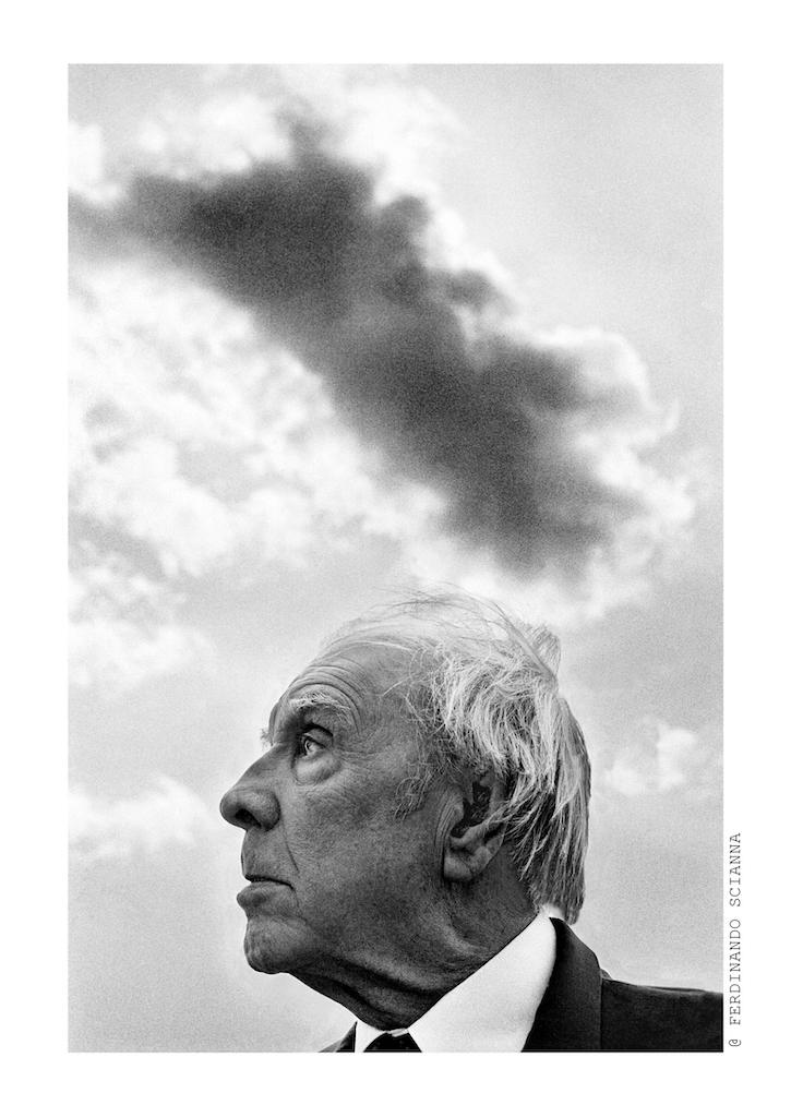 Borges fotografato da scianna