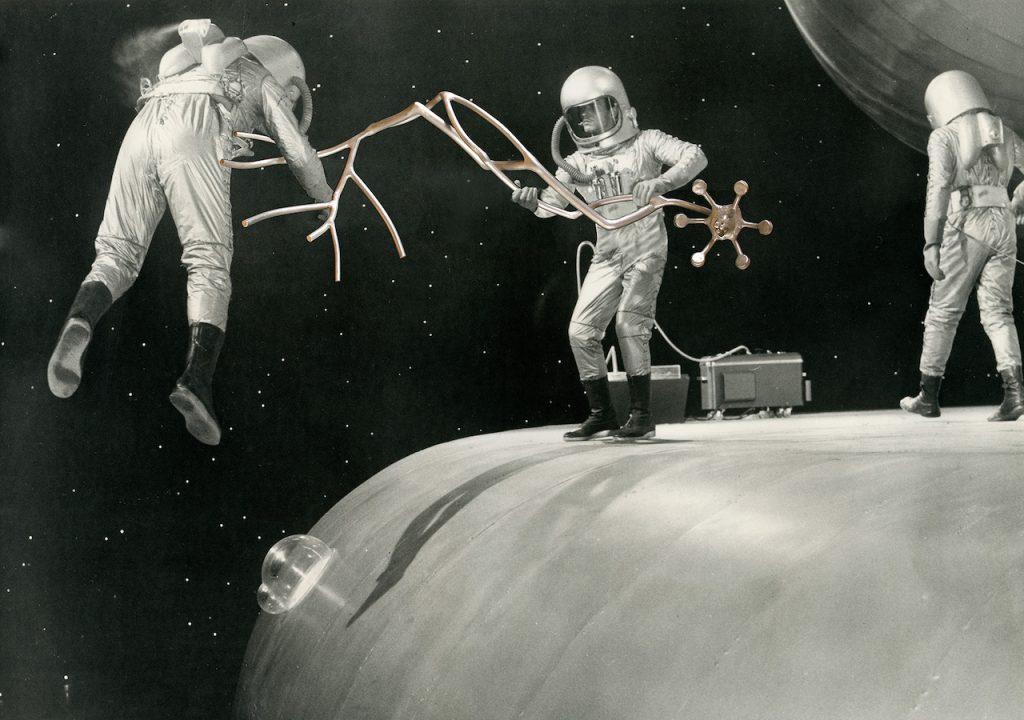 Daniel Rothbart Space Engineers 1962-2019 digital collage