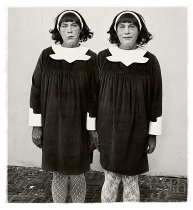 Diane Arbus Identical Twins Roselle New Jersey 2014 Sandro Miller