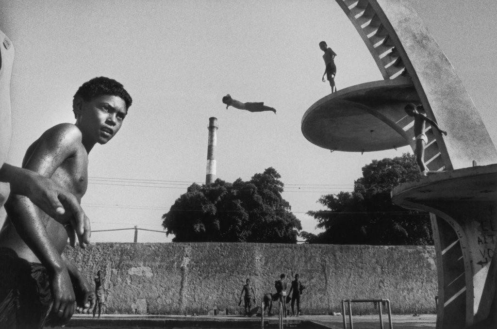 Ernesto Bazan Jumping Avana Cuba 1995