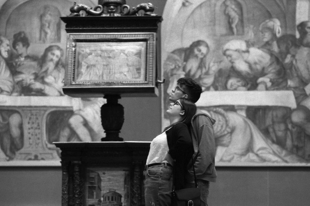 è Brescia Gianni Berengo Gardin Pinacoteca Tosio Martinengo 2019