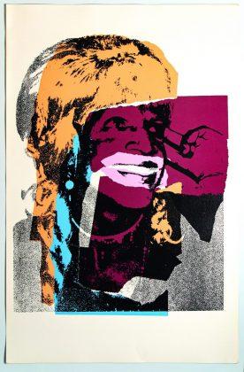 Andy Warhol Ladies and Gentlemen II.133 1975 Serigrafia a colori firmata in originale