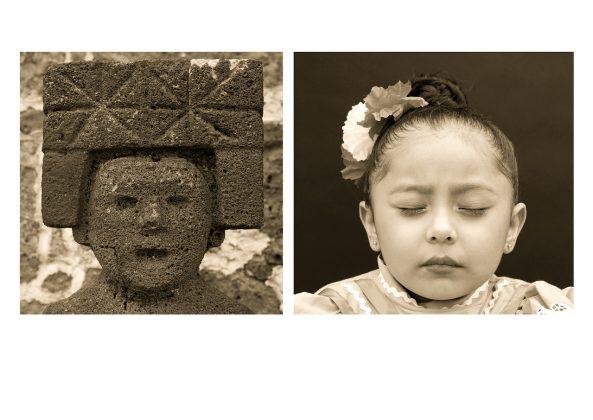 Cristina Kahlo Posthispánico MX Girl Past and Present 2016