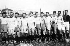 La Reggiana 1926/27 vincitrice del campionato di Prima Divisione. Studio fotografico Mario Vaiani