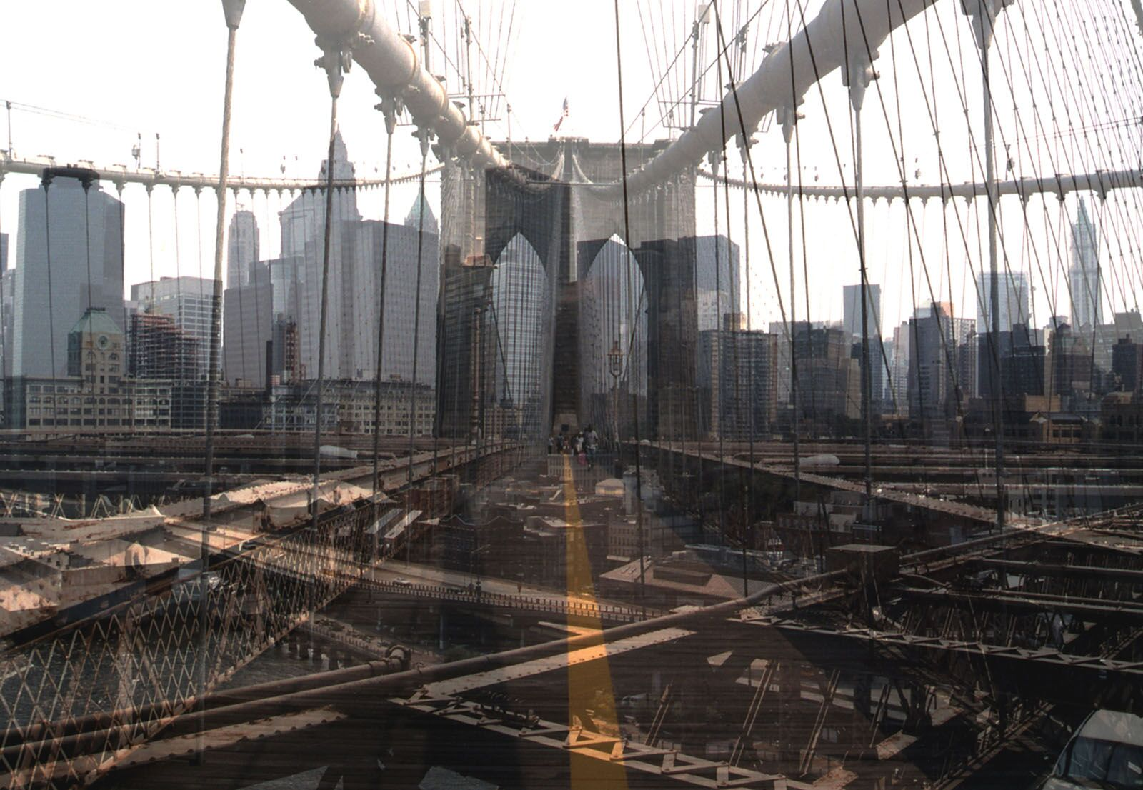 Davide Bramante, My Own Rave. New York (Ponte di Brooklyn), 2017, Esposizione multipla non digitale, cm. 150x230, edition: 5, Courtesy Fabbrica Eos