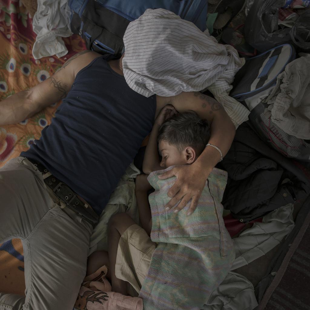 The Migrant Caravan  © Pieter Ten Hoopen, Agence Vu/Civilian Act